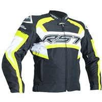 RST Tractech Evo R CE Textile Jacket 2048 (Black|Flo Yellow)