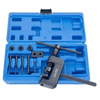 BikeTek Heavy Duty Chain Cutter & Rivetting Kit