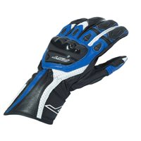 RST R-18 Semi Sport CE Motorcycle Glove 2085 (Black|Blue)
