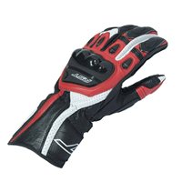 RST R-18 Semi Sport CE Motorcycle Glove 2085 (Black|Red)