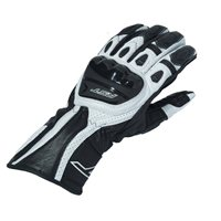 RST R-18 Semi Sport CE Motorcycle Glove 2085 (Black|White)