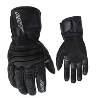 JET CE Waterproof Motorcycle Glove 2106 (Black) by RST