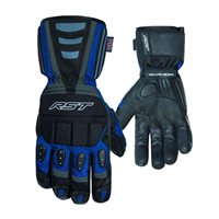 RST Storm CE Waterproof Glove 2717 (Black|Blue)