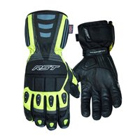 RST Storm CE Waterproof Glove 2717 (Black|Flo Yellow)