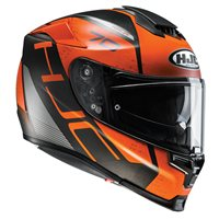 HJC RPHA 70 Vias Motorcycle Helmet (Orange)