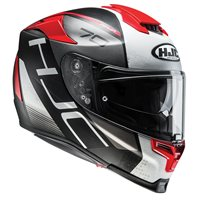 HJC RPHA 70 Vias Motorcycle Helmet (Red)