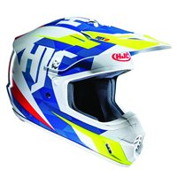 HJC CS-MX II Dakota Moto-X Helmet (Blue|White|Fluo Yellow)
