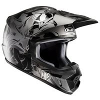 HJC CS-MX II Moto-X Helmet Graffed (Black)