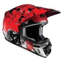 HJC CS-MX II Moto-X Helmet Graffed (Red)