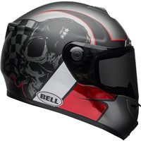 Bell SRT Helmet Hart Luck (Charcoal|White|Red)