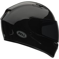 Bell Qualifier DLX Helmet (Gloss Black) with Transition Visor