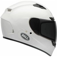 Bell Qualifier DLX Helmet (Gloss White) with Transition Visor