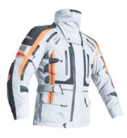 RST Pro Series Paragon V CE Jacket 2416 (Silver|Flo Orange)