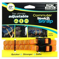 Oxford ROK Commuter Straps LD 12mm Adjustable Orange Reflective