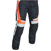 RST Rallye CE Textile Trousers 2889 (Black|Flo Red)