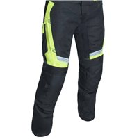 RST Rallye CE Textile Trousers 2889 (Black|Flo Yellow)