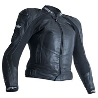 RST Blade II Ladies CE Leather Jacket 2935 (Black)