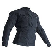 RST Gemma Ladies CE Textile Motorcycle Jacket (Black)