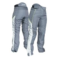 RST Gemma Ladies CE Textile Trousers 2046 (Gunmetal Grey|Flo Yellow)