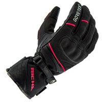 Richa Diana Gore-Tex Ladies Motorcycle Glove (Black|Pink)