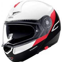 Schuberth C3 PRO GRAVITY RED Flip Front Motorcycle Helmet