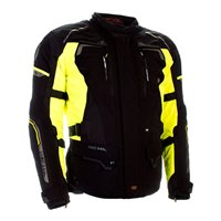 Richa Infinity 2 Textile Motorcycle Jacket (Black|Yellow)