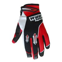 Wulfsport Kids Stratos Moto-X Gloves (Red)