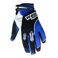 Wulfsport Kids Stratos Moto-X Gloves (Blue)