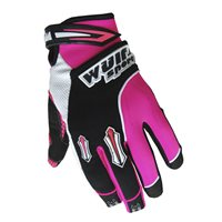 Wulfsport Kids Stratos Moto-X Gloves (Pink)