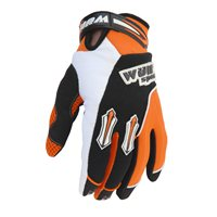 Wulfsport Kids Stratos Moto-X Gloves (Orange)
