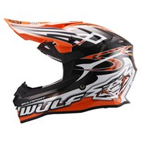 Wulfsport Sceptre Motocross Helmet (Orange)