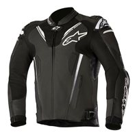 Alpinestars ATEM v3 Leather Motorcycle Jacket (Black)