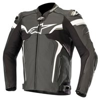 Alpinestars CELER v2 Leather Motorcycle Jacket (Black/White)