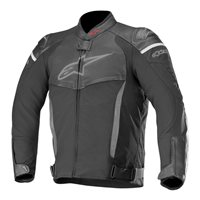 Alpinestars SP-X Leather Motorcycle Jacket (Black)