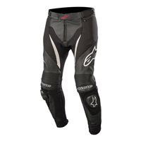 Alpinestars SP-X Leather Trousers (Black/White)