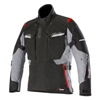 Alpinestars BOGOTA V2 Drystar Motorcycle Jacket (Black/Dark Grey)