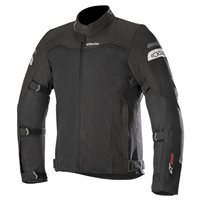 Alpinestars LEONIS DRYSTAR AIR Motorcycle Jacket (Black)