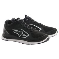 Alpinestars Alloy Motorcycle Shoes (Black)