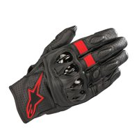 Alpinestars Celer v2 Motorcycle Gloves (Black/Red)