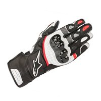 Alpinestars SP-2 v2 Motorcycle Gloves (Black/White/Red)
