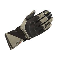 Alpinestars Andes Touring Outdry Motorcycle Gloves (Military Green/Black)