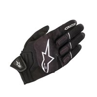 Alpinestars Atom Motorcycle Gloves (Black/White)