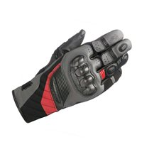 Alpinestars Belize Drystar Motorcycle Gloves (Black/Anthracite/Red)