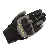 Alpinestars Crosser Air Touring Gloves (Black/Anthracite/Fluo Yellow)