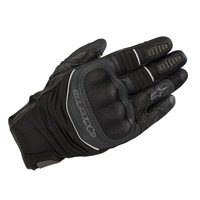 Alpinestars Crosser Air Touring Motorcycle Gloves (Black)