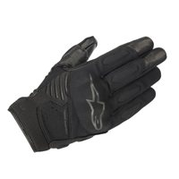 Alpinestars Faster Motorcycle Gloves (Black/Black)