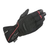 Alpinestars Primer Drystar Motorcycle Gloves (Black/Red)