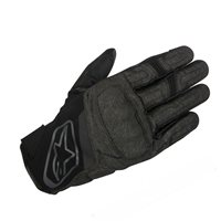Alpinestars Syncro Drystar Motorcycle Gloves (Black/Grey)