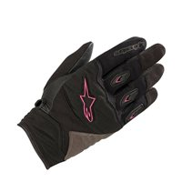 Alpinestars Stella Shore Motorcycle Gloves (Black/Fuchsia)