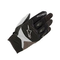 Alpinestars Stella Shore Motorcycle Gloves (Black/White)